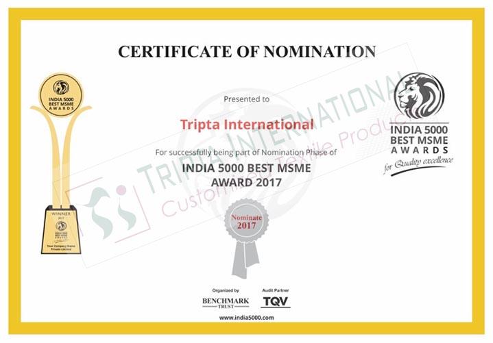 Tripta-Certificate1